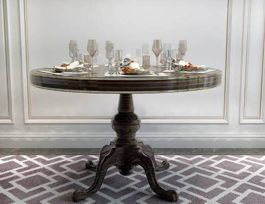 餐桌, 简欧