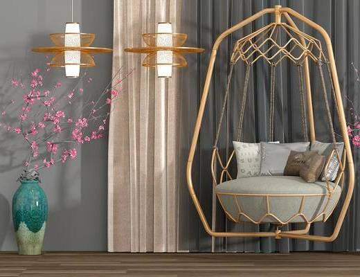 吊椅, 灯具, 花瓶
