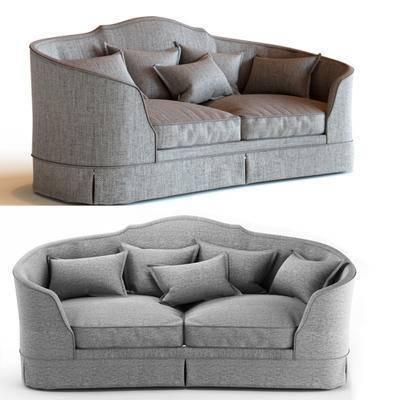 多人沙发, 欧式, 沙发, 抱枕