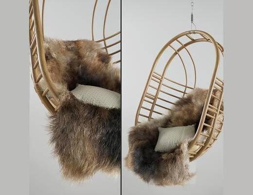 现代简约, 吊椅, 椅子