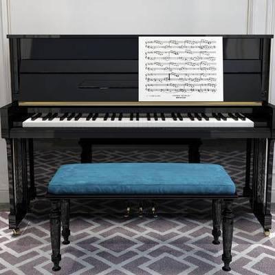 钢琴, 简欧
