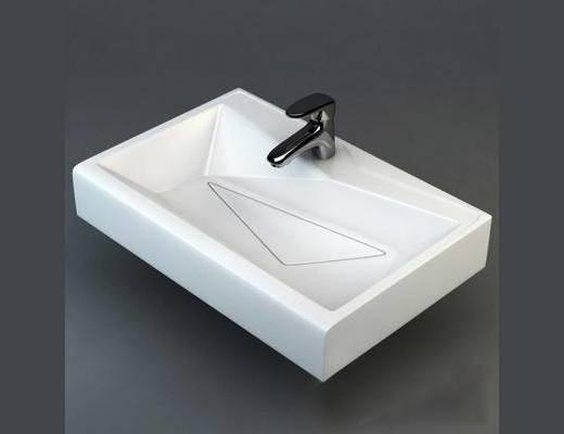 洗手盆, 卫浴, 现代