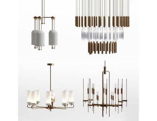 后现代, 吊灯, 灯具, 现代吊灯