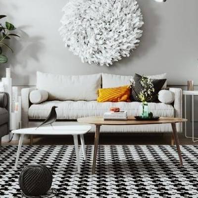 北歐客廳, 客廳, 沙發組合