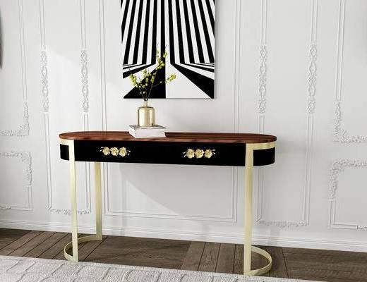 美国KOKET, 古典, 案几, 桌子