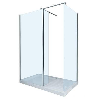 现代浴室玻璃门, 推拉门