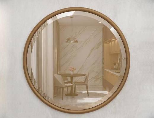 现代简约, 意大利Gardadecor, 装饰镜子, 镜子