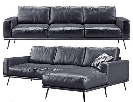 美式, 多人沙发
