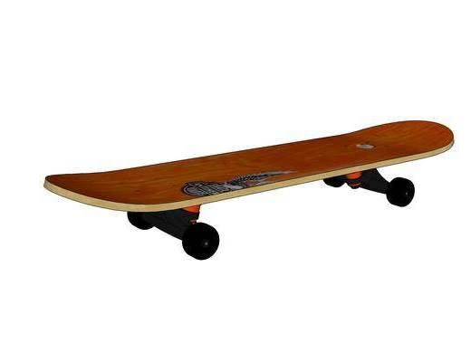 现代, 摆件, 滑板, 装饰