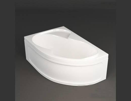 卫浴, 现代, 浴缸