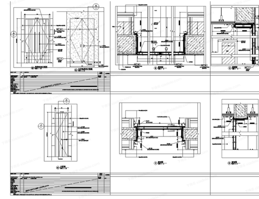 CAD, 门表, 标准图例, 下得乐3888套模型合辑