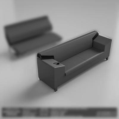 多人沙发, 后现代