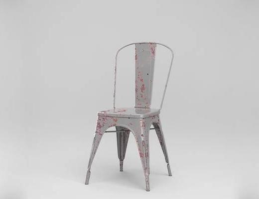 现代简约, 金属座椅, 椅子, 法国Tolix