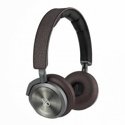 现代, 耳机, 简约, 头戴式