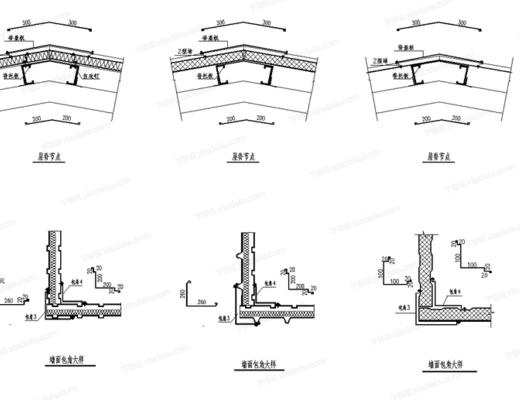 CAD, 施工图, 工装, 结构, 节点