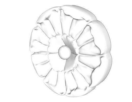 雕花, 欧式, 石膏, 圆形
