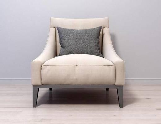 现代单人沙发, 单人沙发, 沙发
