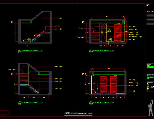 CAD施工图, 平面图, 立面图, 大师, 家装