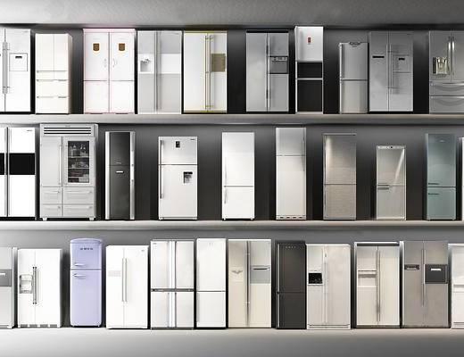 冰箱, 冰柜, 家电