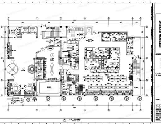 CAD, 施工图, 工装, 酒店, 平面图, 立面图, 大样图