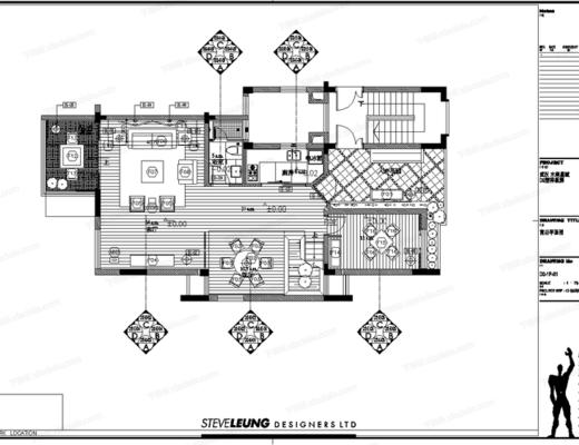 CAD, 大师, 梁志天, 室内, 家装, 别墅, 平面图, 立面图, 节点, 大样, 电路图, 天花图