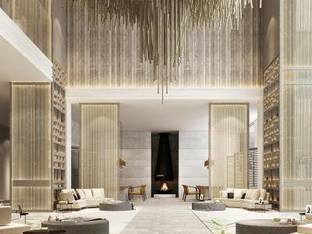 现代主题酒店大厅3D模型