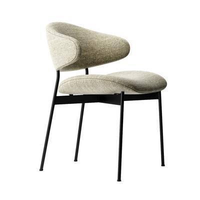 现代, 单椅, 简约, 休闲椅