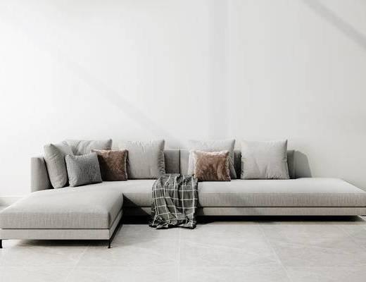 多人沙发, 现代