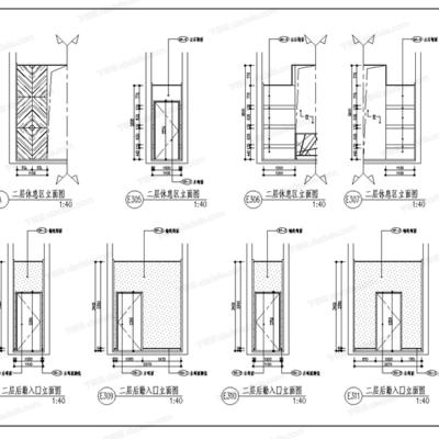 CAD, 梁景华, 工装, 会所, 大师, 平面, 立面