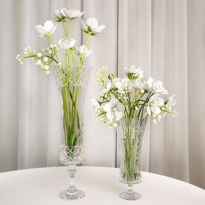 现代花瓶花卉, 现代, 花瓶, 花卉, 植物