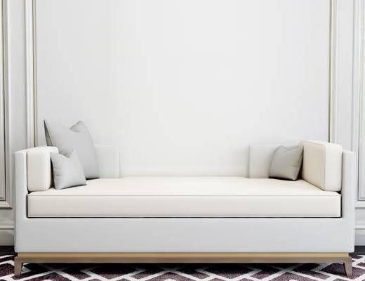沙发凳, 简欧