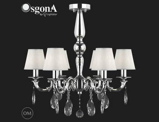 美式, 吊灯, 银色, 中国Osgona