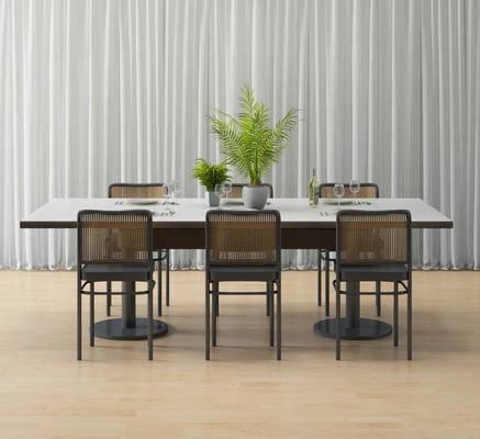 现代, 餐桌椅