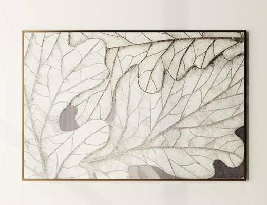 挂画, 植物画, 现代