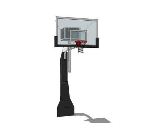 游乐设备, 装饰, 现代, 篮球框