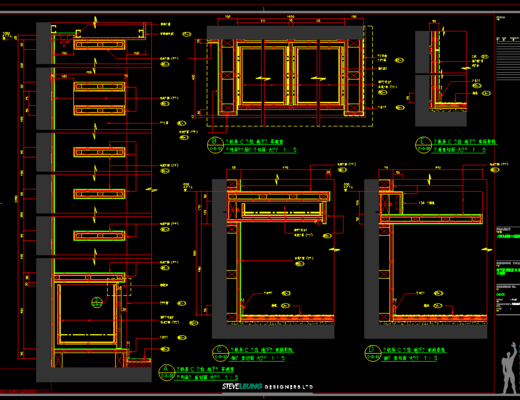CAD施工圖, 大師, 別墅, 平面圖, 立面圖, 下得樂3888套模型合輯