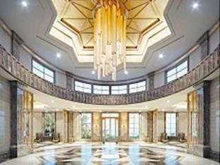 现代酒店吊灯大厅大堂