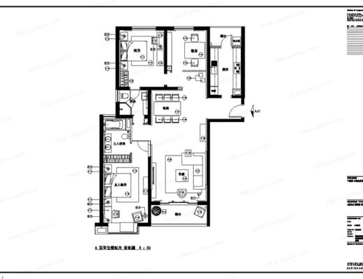 CAD, 施工图, 大师, 室内, 家装, 立面, 平面, 下得乐3888套模型合辑