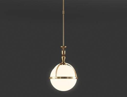 后现代, 金属吊灯, 吊灯