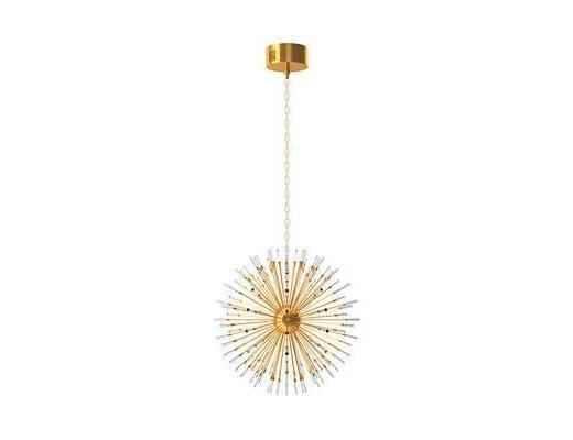 现代, 金属, 水晶, 吊灯