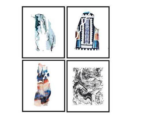 挂画, 现代, 简约, 装饰