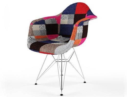 美式, 椅子, 单人椅