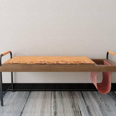沙发凳, 新中式