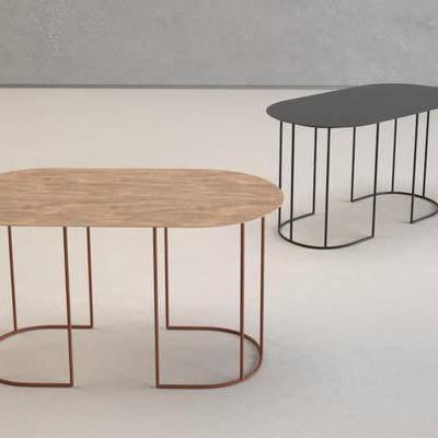 美式简约, 桌子, 美式桌子, 下得乐3888套模型合辑