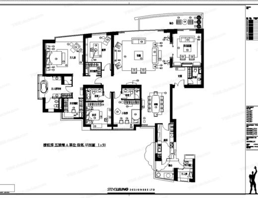 CAD, 大师, 梁志天, 施工图, 家装, 室内, 样板房, 平面图, 立面图, 大样, 深化, 节点, 电路图, 天花