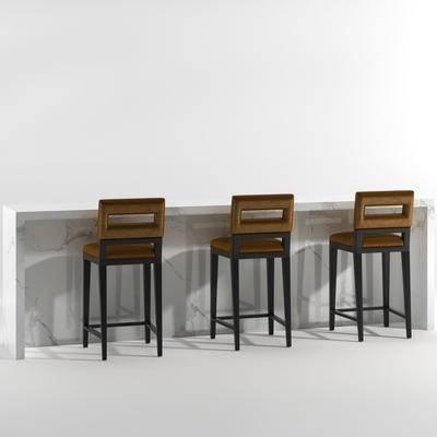 吧台, 吧椅, 现代