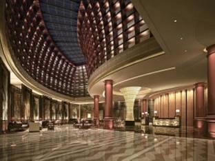现代酒店大堂大厅前台接待3D模型