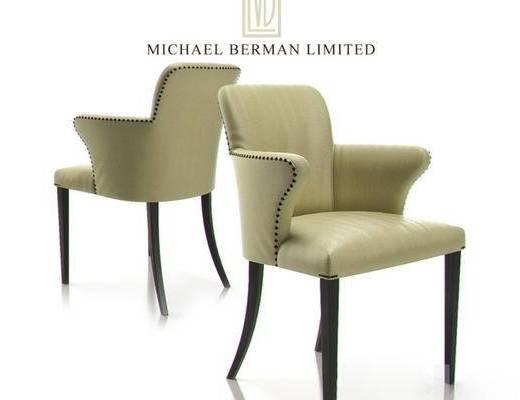 现代, 椅子, 单椅, 现代简约, 单人椅, 靠椅