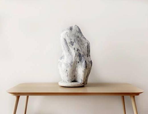 雕刻, 摆件, 新中式