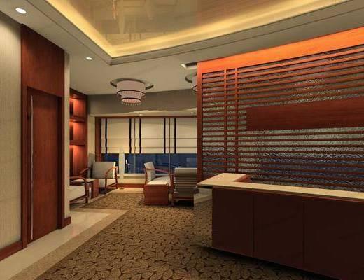 CAD, 施工图, 实景图, 平面图, 立面, 酒店, 客房